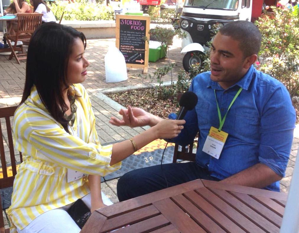 Estudiantes de comunicación social de la UTB participaron en el Festival Gabriel García Márquez 2016
