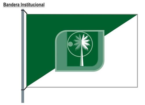 Bandera Institucional de la UTB