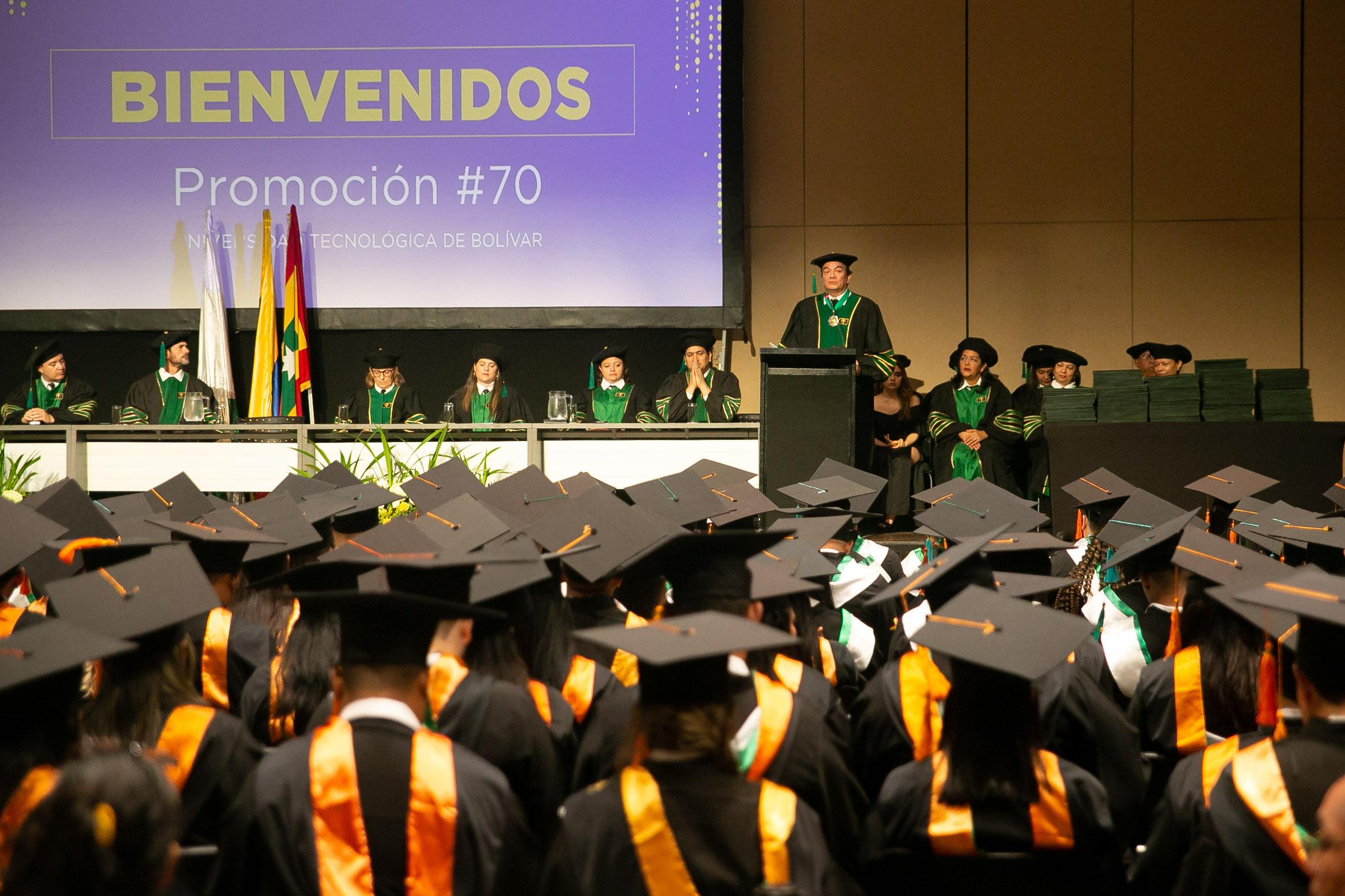 Felicitaciones a nuestra promoción No. 70