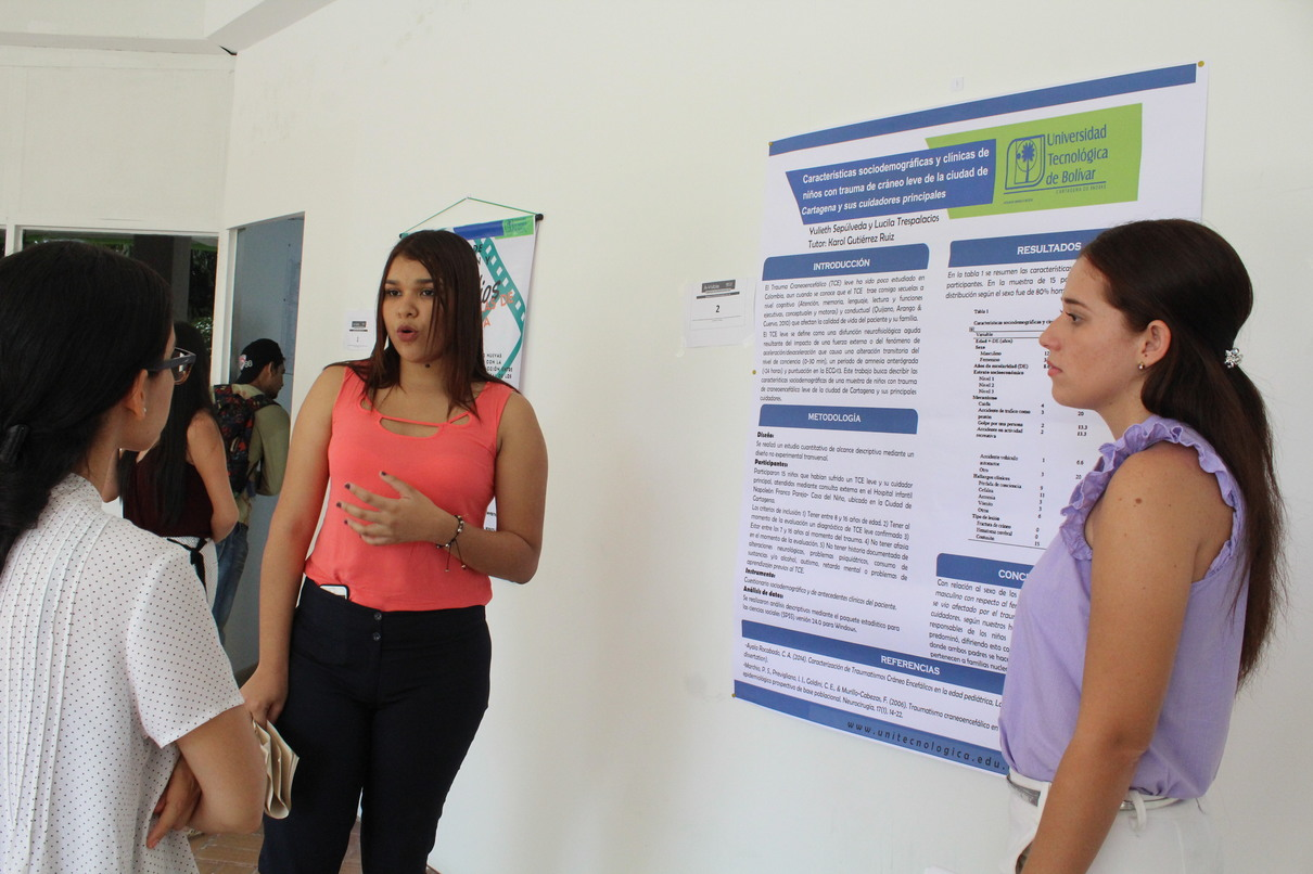 Exitoso y participativo, I Simposio de Investigación - In – Visible 2017 de la UTB