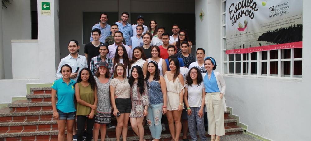 Estudiantes del mundo en la XII Escuela de Verano UTB