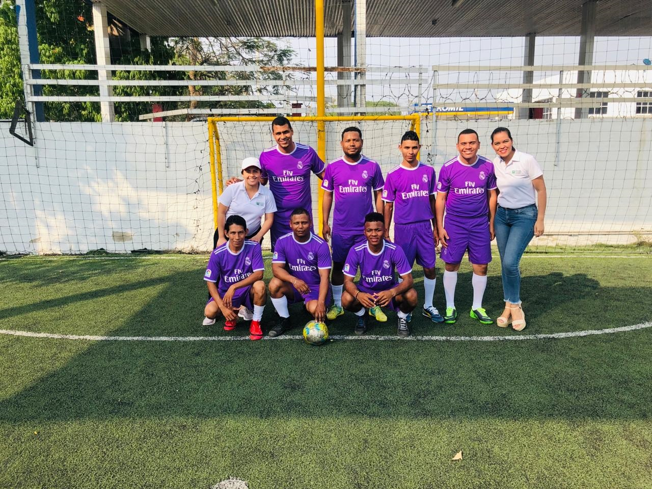 Torneo de futbol en la UTB