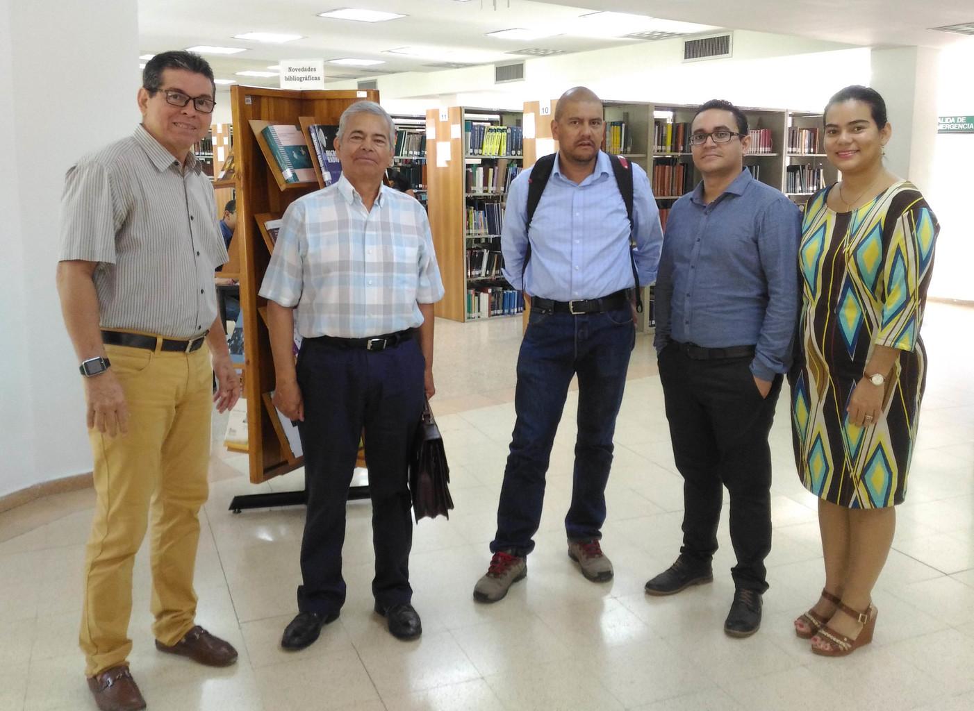 Pares académicos visitan la UTB para renovar la acreditación del programa de Ingeniería Electrónica