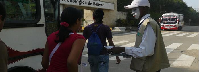 Foto Campaña de Responsabilidad Social en la UTB