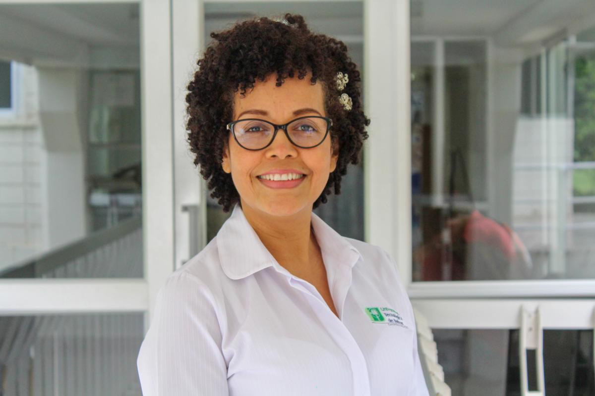 Rosana Pajaro - auxiliar administrativa en la Facultad de Ingeniería de la UTB