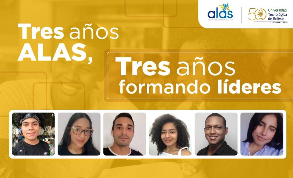 conmemoración formacion de liderazgo alumnos UTB proyecto ALAS