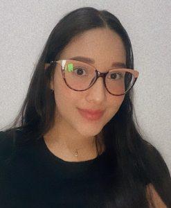 Integrante programa ALAS, estudiante Génesis Ramos