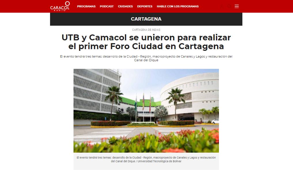 UTB y Camacol