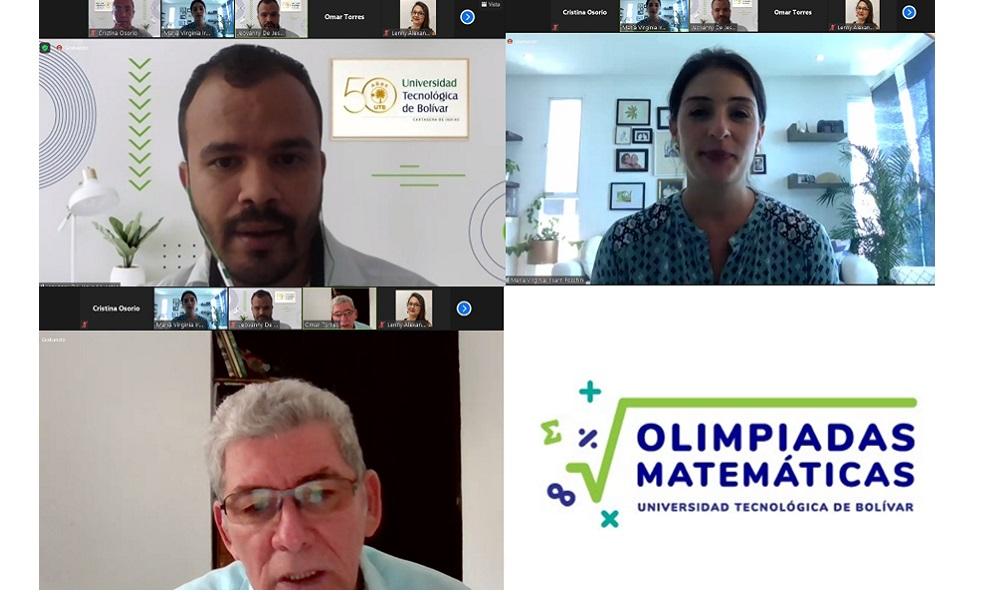 Sesion virtual conversatorio olimpiadas matematicas UTB