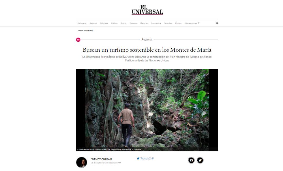 turismo sostenible en los Montes de María